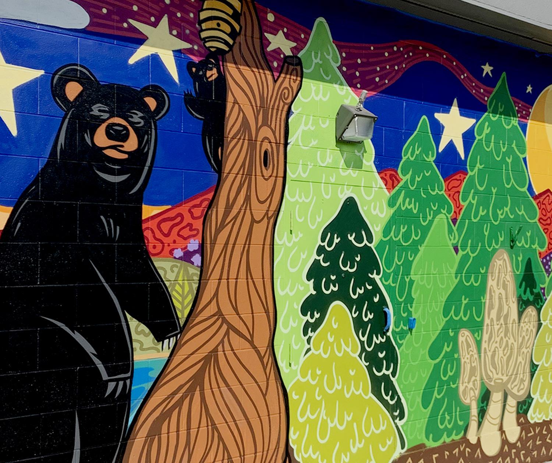 mural pilgrims market